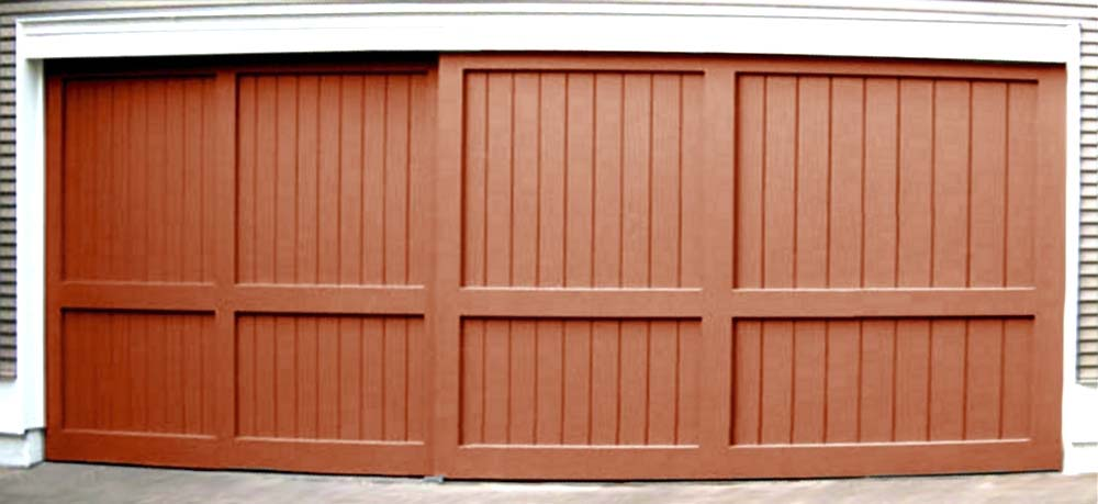 Charmant Large Sliding Garage Doors Guaranteed True Flat Sing Core