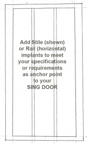 Add-stiles-and-rails-to-your-large-sliding-door-as-anchor-points-drawing