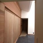 Large Sliding Wood Doors for University Office