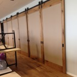 Large Sliding Wood Barn Door Room Dividers