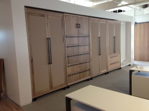 Large sliding room dividers