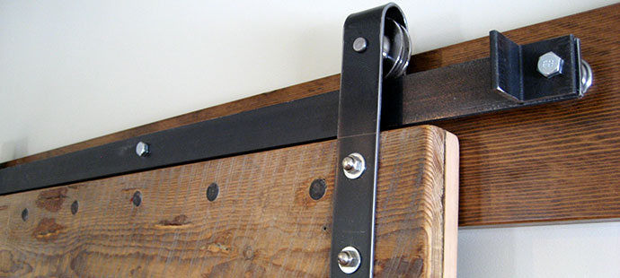 Large Lightweight Interior Sliding Barn Door