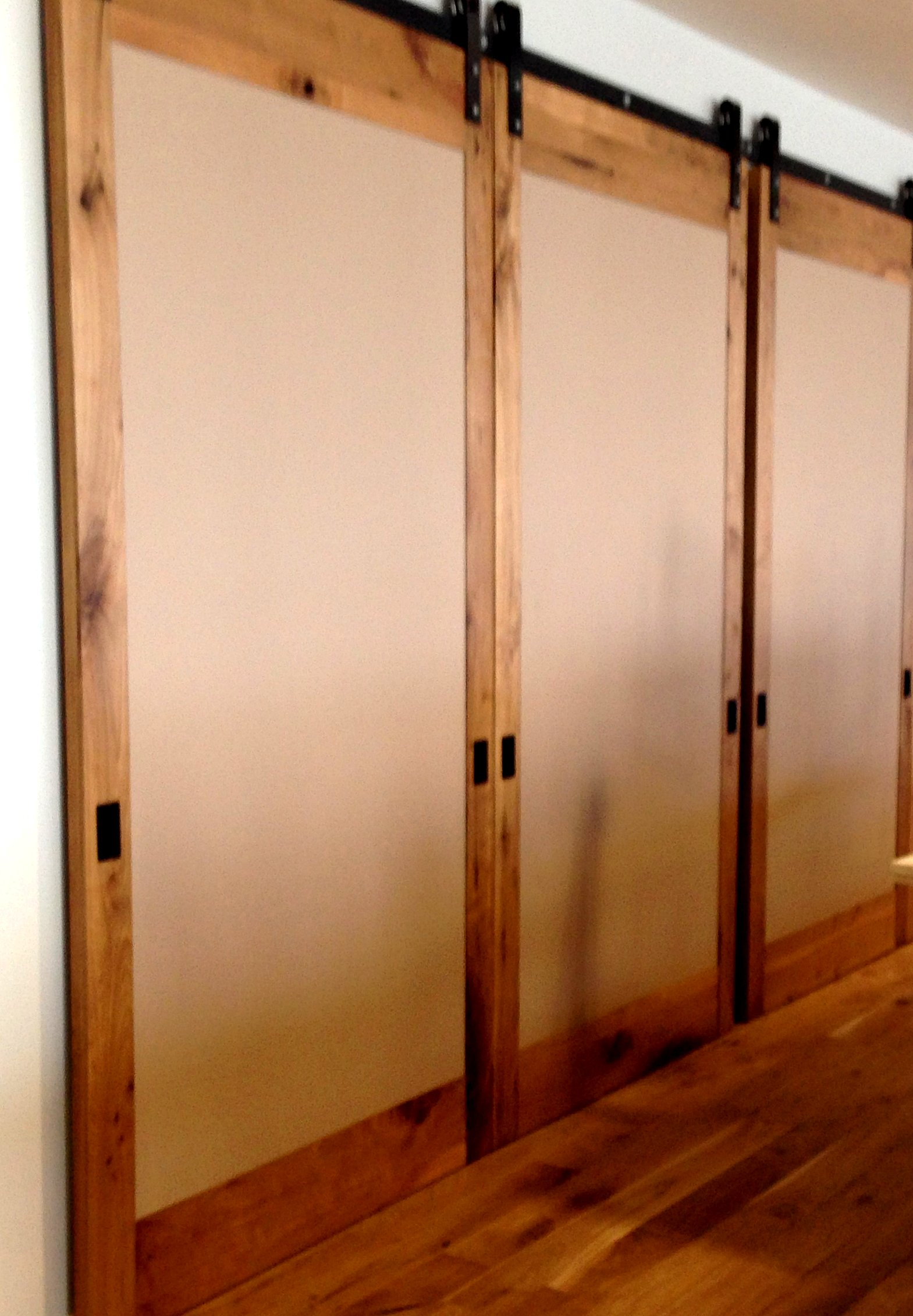 Large barn doors large sliding doors for Sliding entry doors