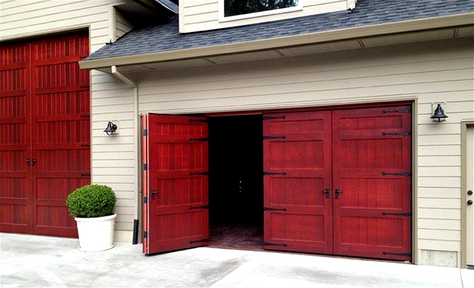 Exterior large wood sliding doors insulated warp free for Oversized exterior doors