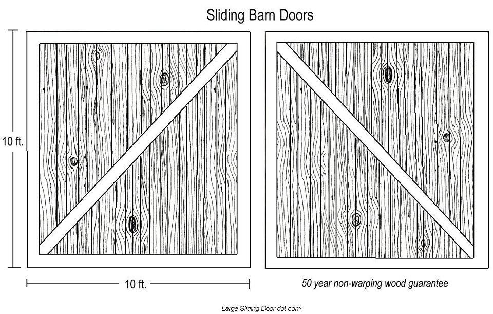 How to build a barn door large sliding doors - How to make an interior sliding barn door ...