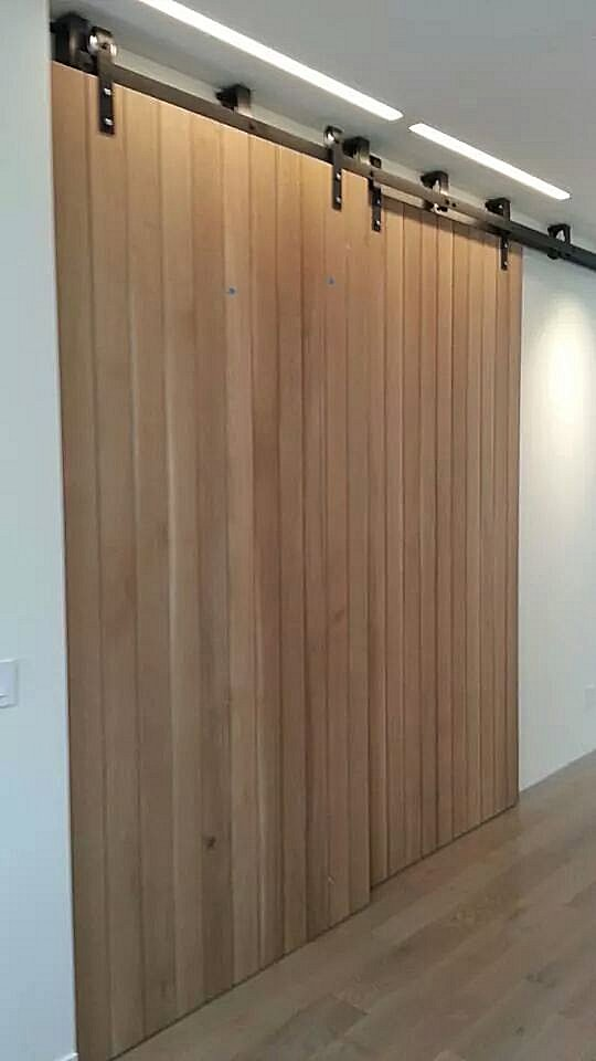 How to build a barn door large sliding doors for How to make a sliding door