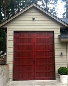 large wood garage door door panel insulated warp free sliding door