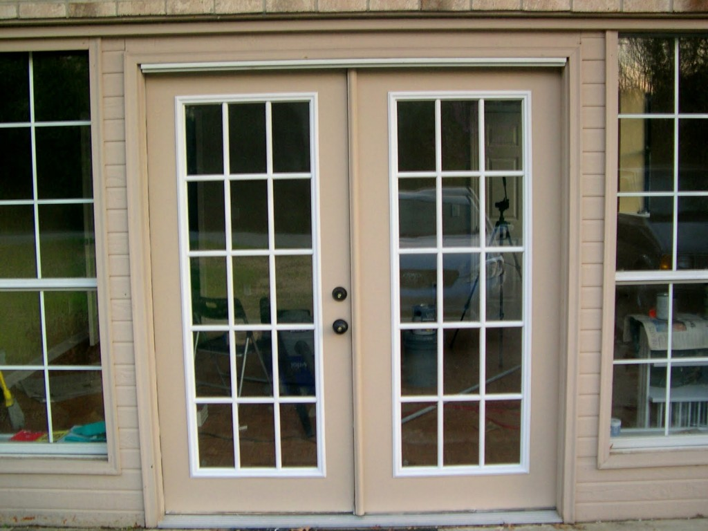 Sliding french doors large sliding doors for Black french doors exterior