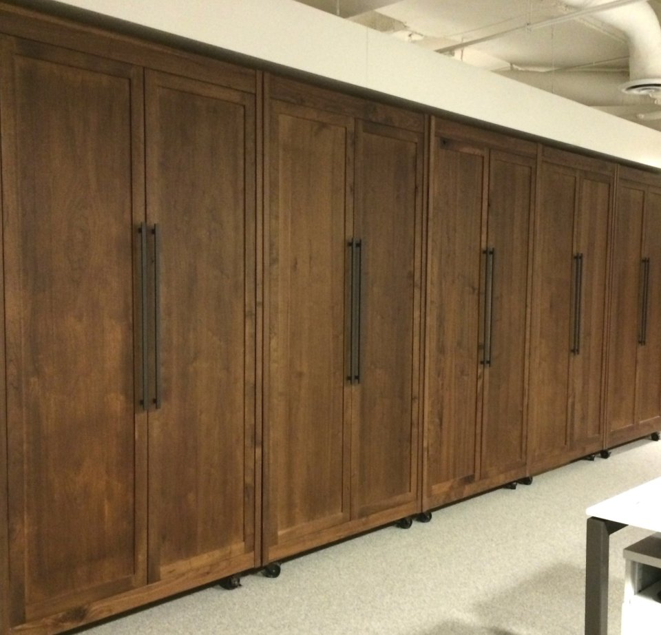 Wooden room dividers large sliding doors Modern divider