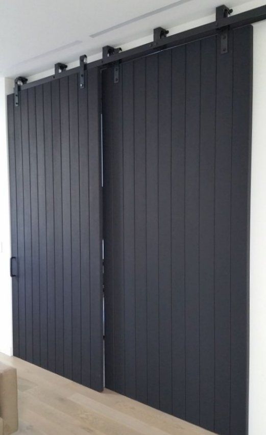 Large interior barn doors awesome for Large internal doors