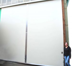 Large Sliding Door Paint Grade Skin