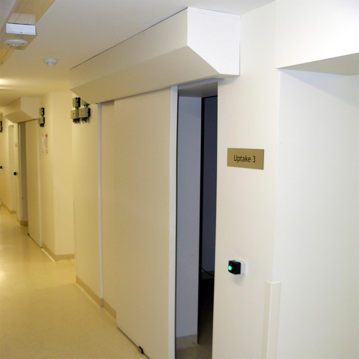Sliding door hardware large doors