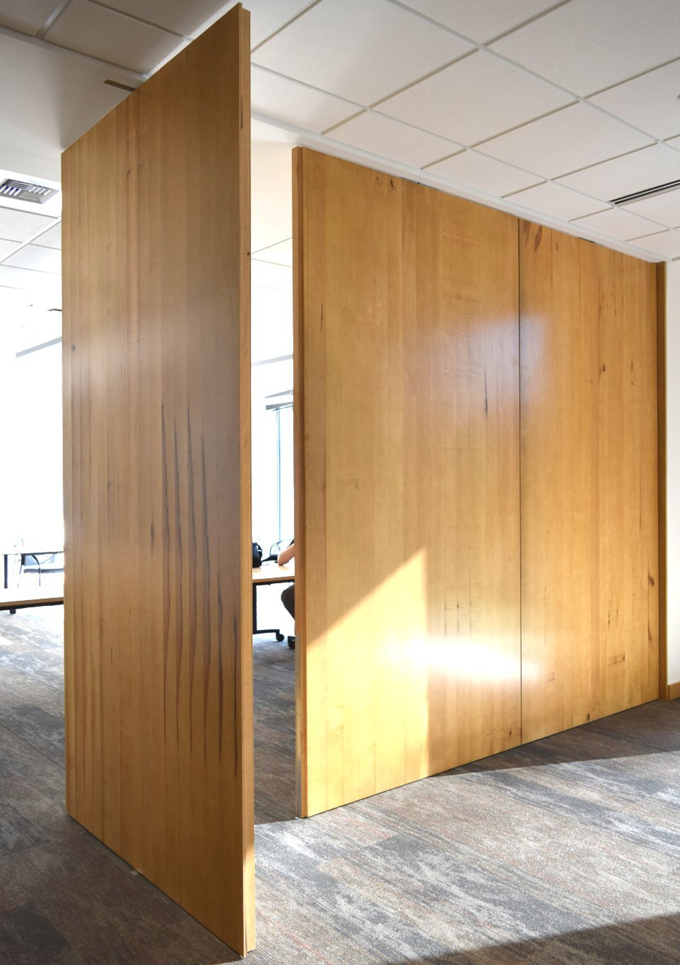 Large sliding room dividers large sliding doors for Sliding walls and doors