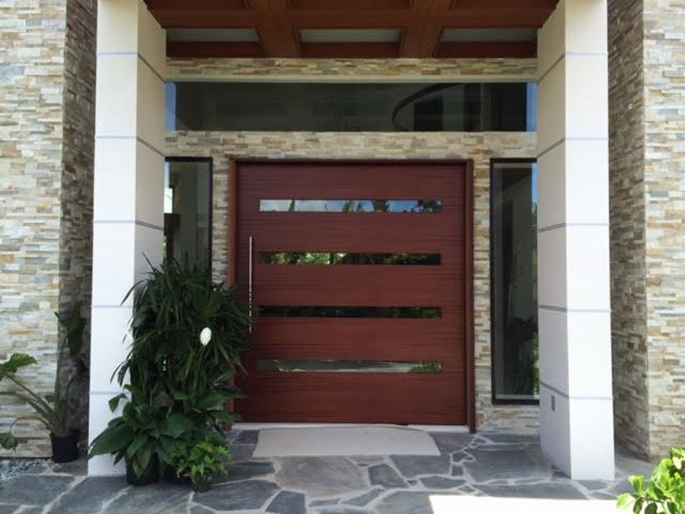 Front doors large sliding doors for Large front entry doors