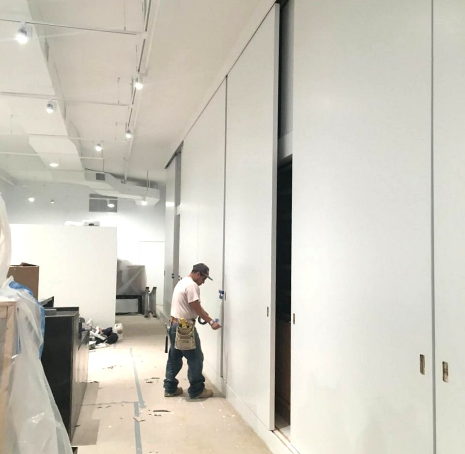 Large Sliding Doors in New York Office