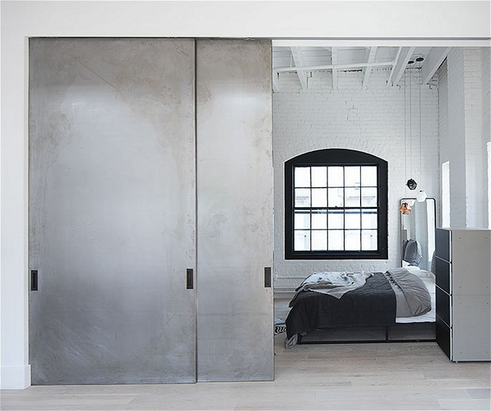 Large Lightweight Industrial Sliding Doors