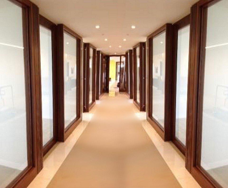 large sliding glass door