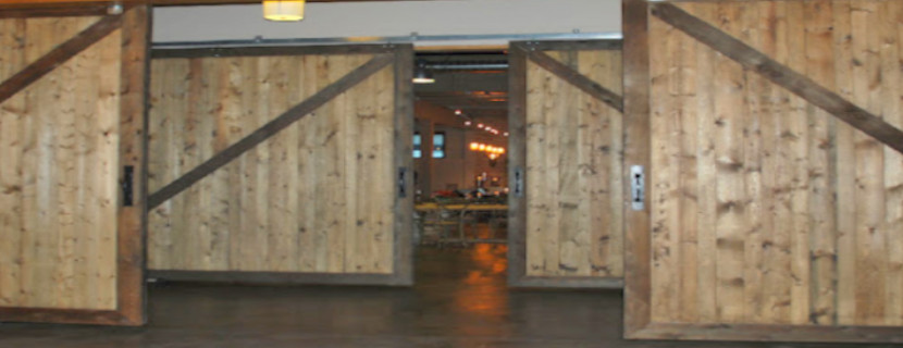 Large Lightweight Sliding Barn Door